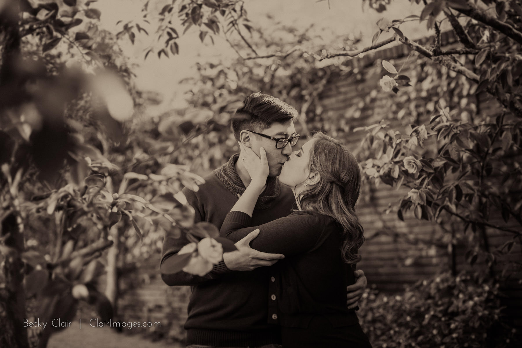 Filoli Engagement Session - Clair Images - Bay Area Wedding Photography