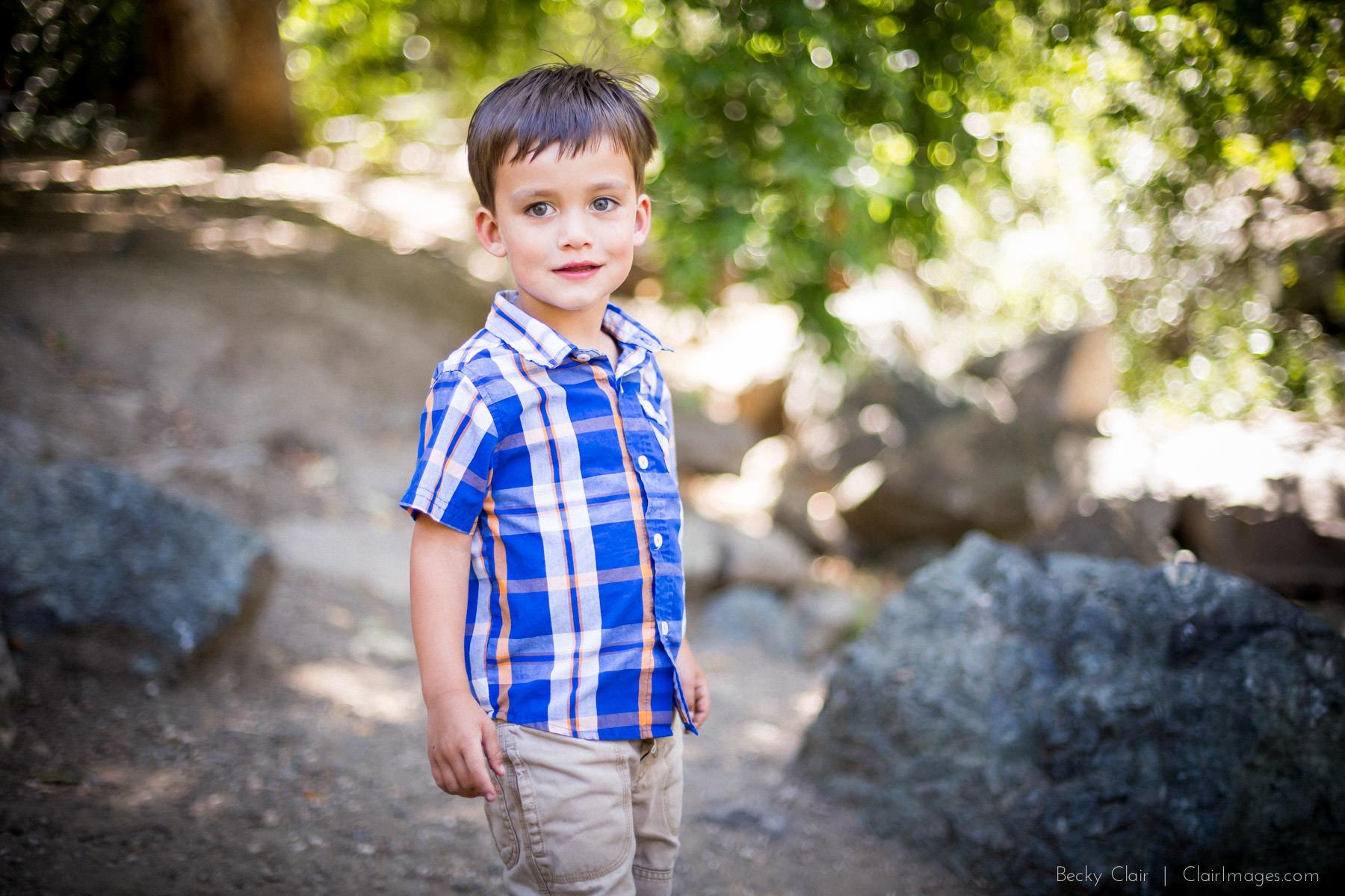 San Luis Obispo Family Portraits - Partridge Family - Clair Images Mini Sessions - Cuesta Park