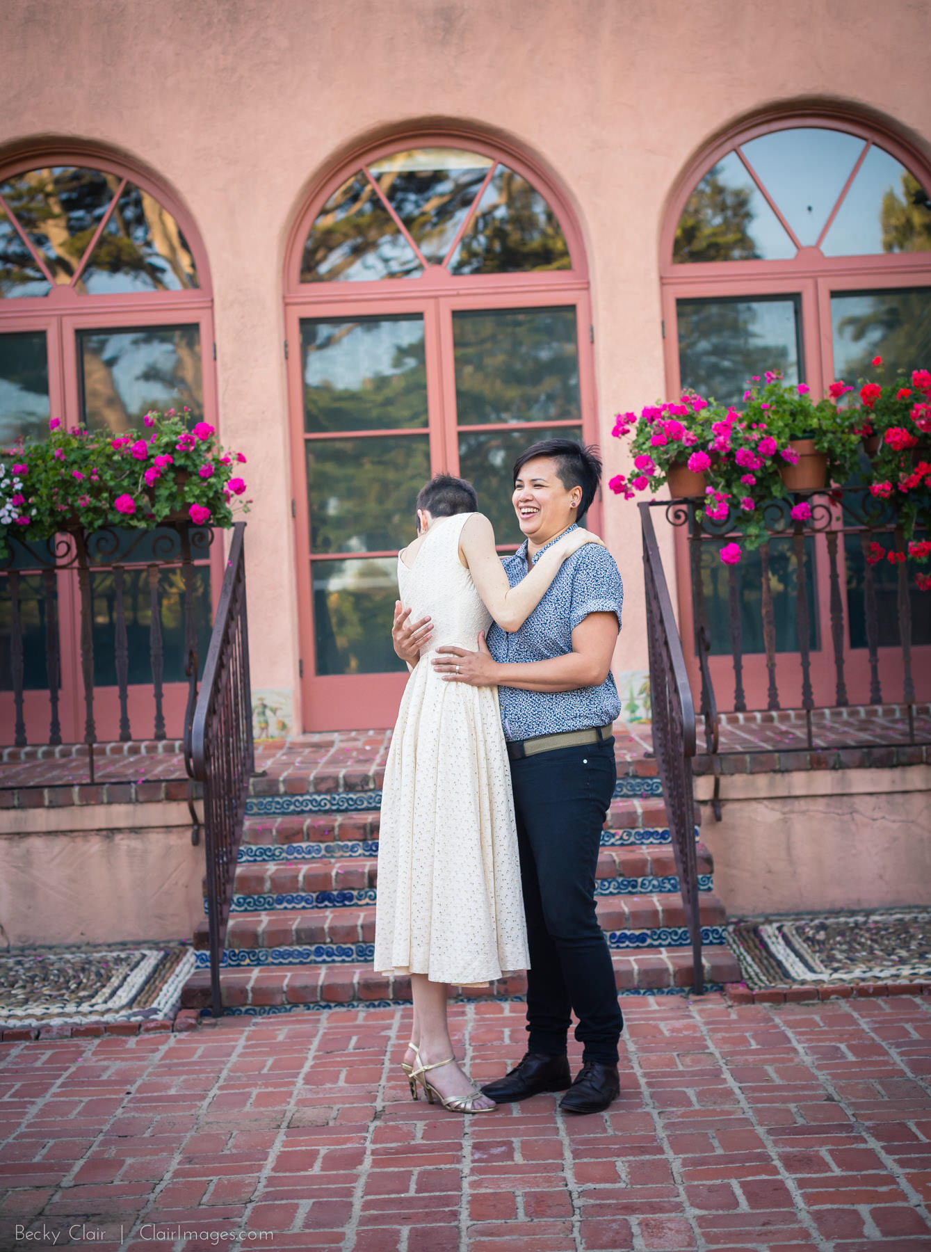 Santa Barbara Engagement Photography - Clair Images - Reese & Lauren's Lotusland Engagement Session