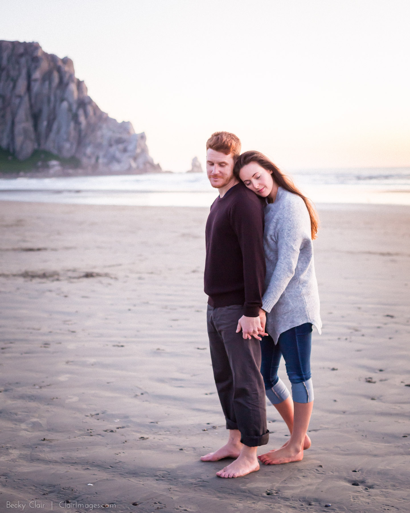 Clair Images - Engagement Sessions - Morro Bay, Ca